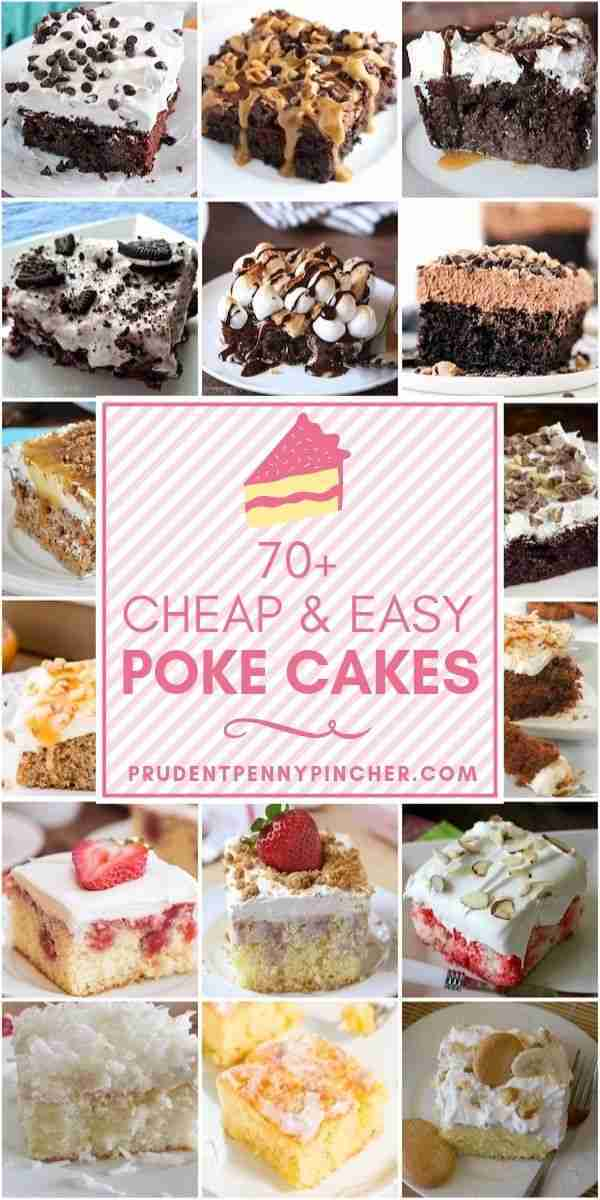 70 Cheap and Easy Poke Cake Recipes