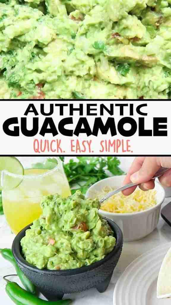 Authentic Guacamole {Easy Homemade Recipe} – That's Deelicious!