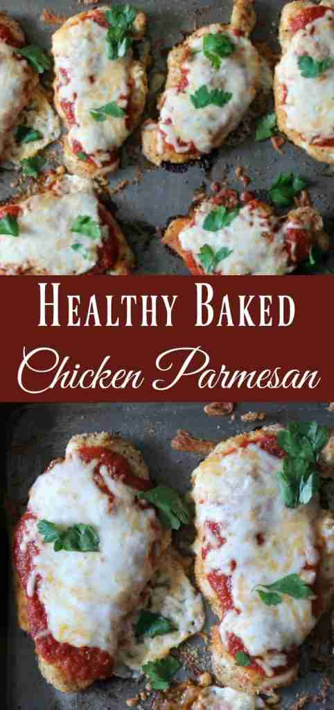 Baked Chicken Parmesan {With Video!} – Organize Yourself Skinny