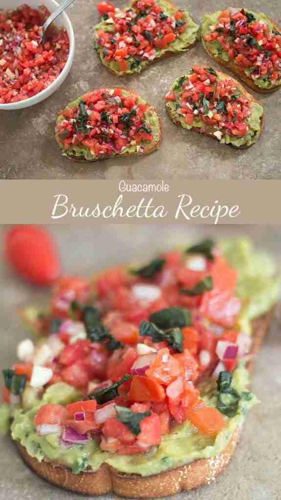 Bruschetta Recipe With Guacamole   Healing Tomato Recipes