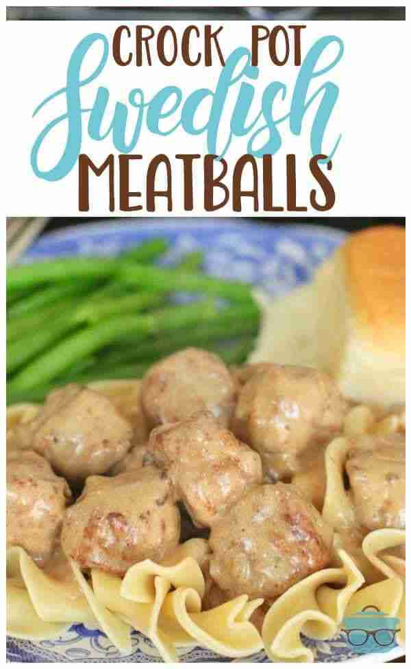 CROCK POT SWEDISH MEATBALLS (+Video) | The Country Cook