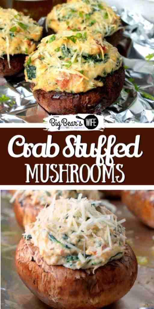 Crab Stuffed Mushrooms – Big Bear's Wife