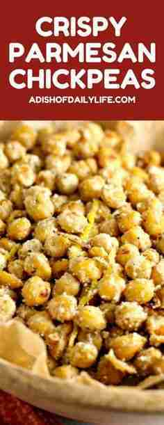 Crispy Parmesan Chickpeas (Healthy Cooking from the Texture Magazine App)