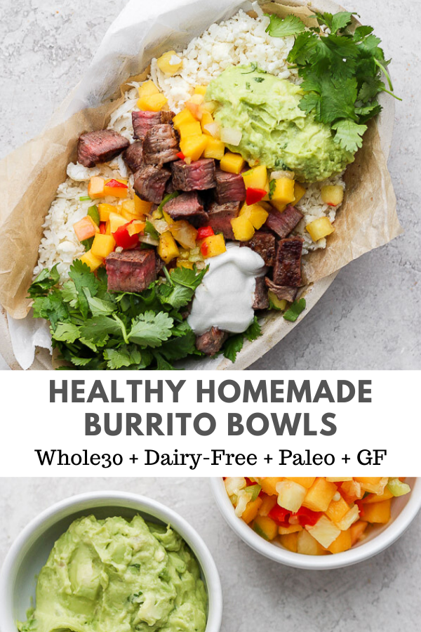 Easy Burrito Bowls – The Wooden Skillet