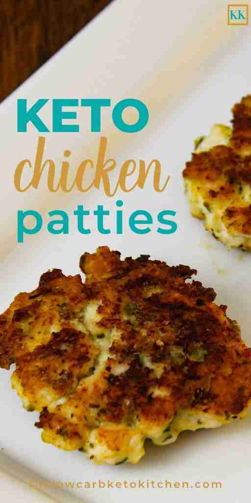 Fantastic Cheesy Keto Chicken Patties {Sugar & Gluten-free}