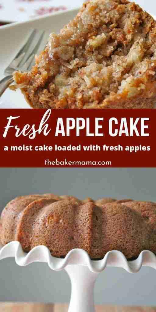 Fresh Apple Cake | The BakerMama