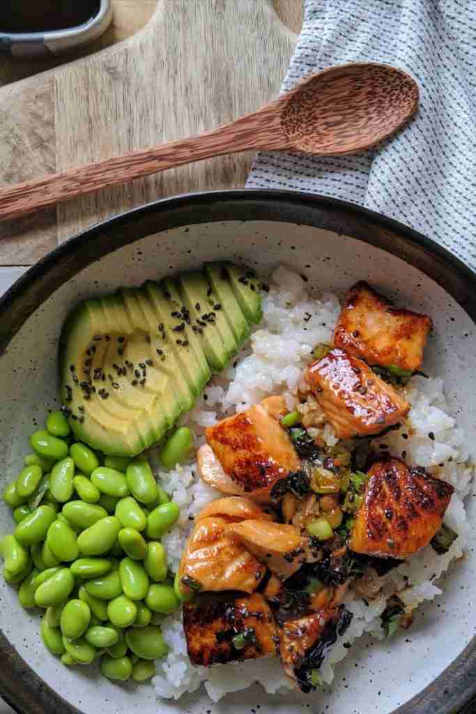 Gluten Free Teriyaki Salmon Sushi Bowl Recipe – My Gluten Free Guide