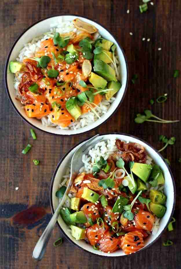 Hawaiianische Ahi Poke Bowl » Taste of Travel