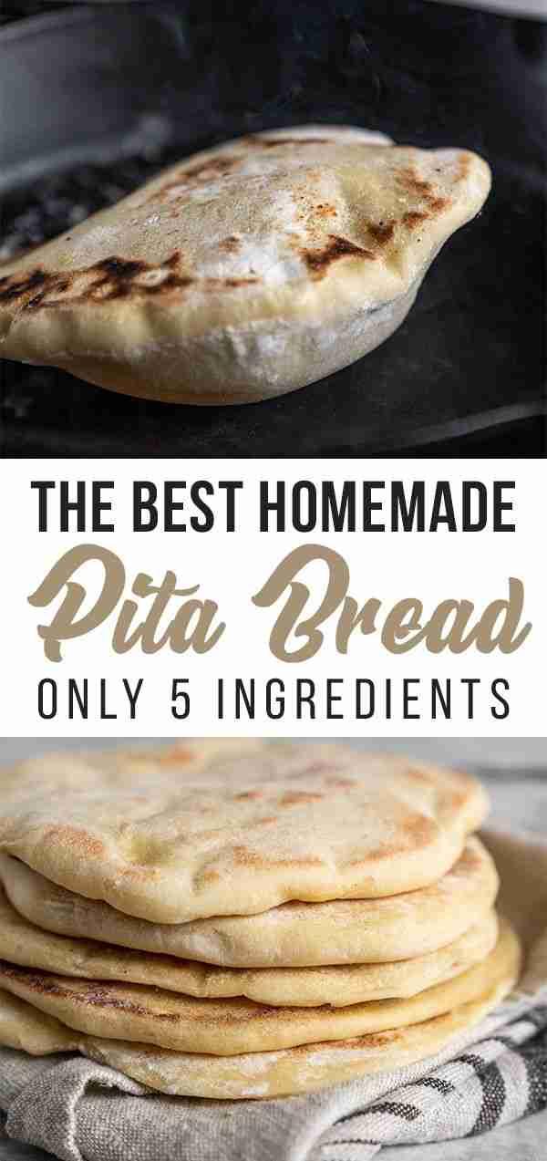 Homemade Pita Bread {Just 5-Ingredients} – Sweet Simple Vegan