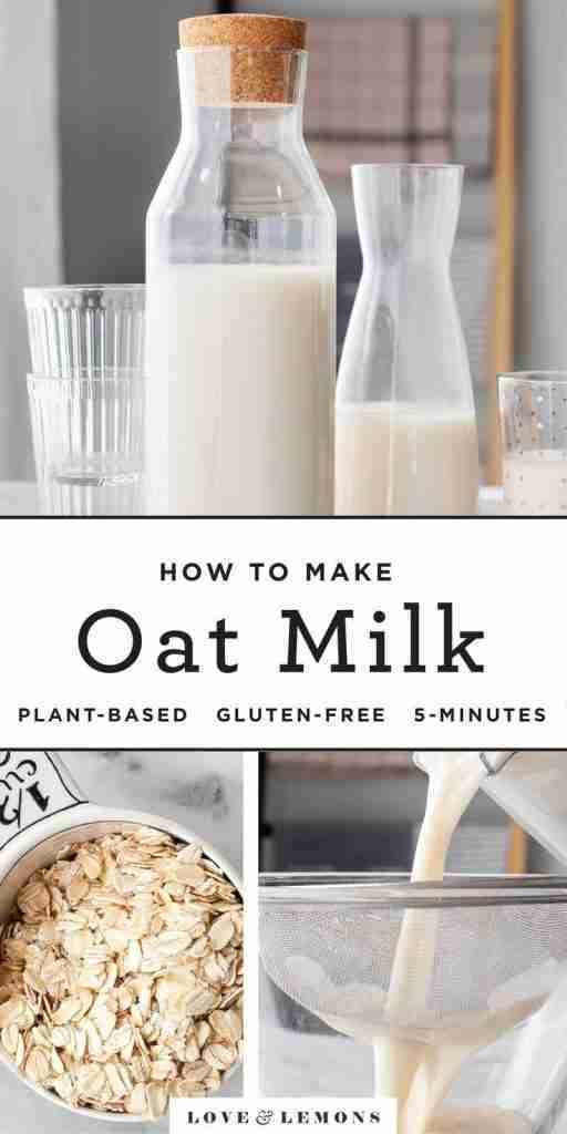 How to Make Oat Milk Recipe – Love and Lemons