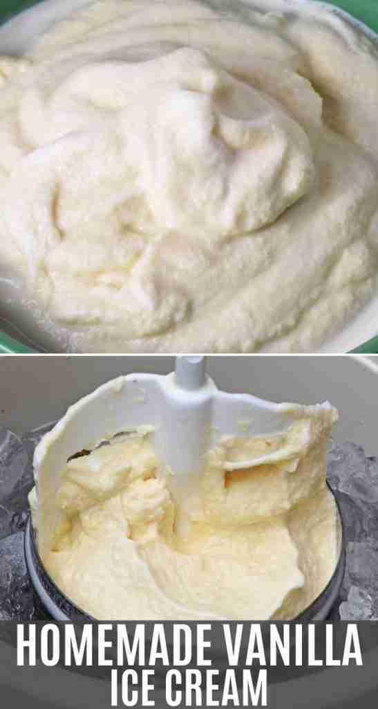 How to Make Old Fashioned Homemade Vanilla Ice Cream