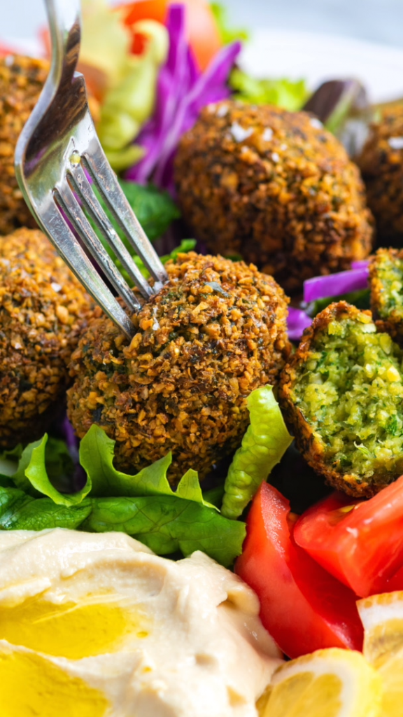 How to Make Perfectly Crispy Falafel