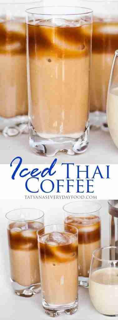 Iced Vanilla Thai Coffee (video) – Tatyanas Everyday Food