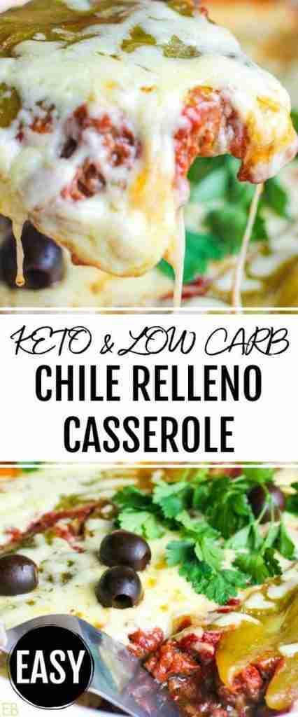 Keto Chile Relleno Casserole (a Keto, Paleo, GAPS, egg-free Mexican Dinner Casserole)