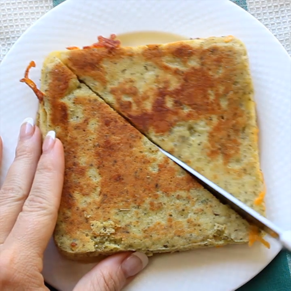Keto Low Carb Grilled Cheese – Crafty Morning