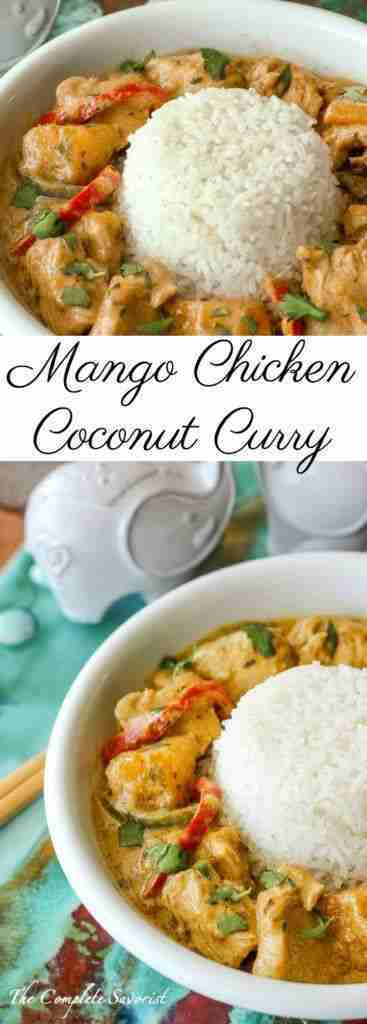 Mango Chicken Coconut Curry – The Complete Savorist