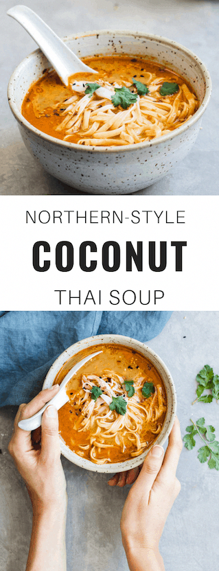Northern-Style Vegan Thai Coconut Soup