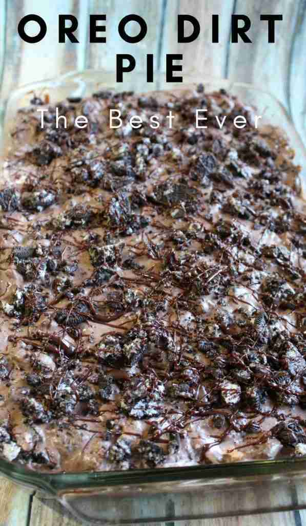 Oreo Dirt Pie is the most addicting thing in the world. Don't Believe me? Give i…