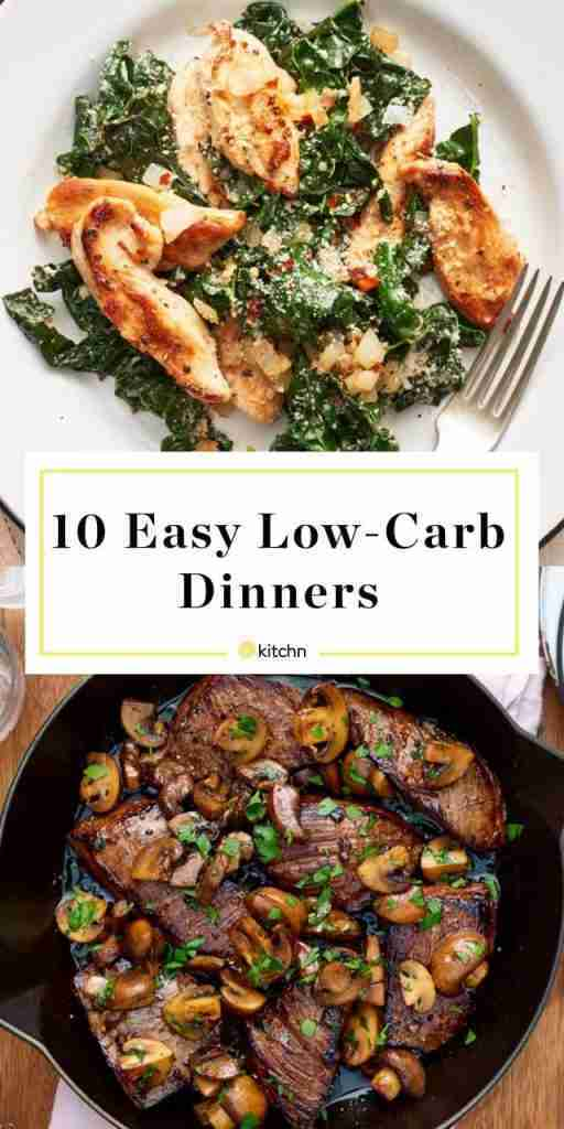 Our 10 Easiest Low-Carb Dinner Recipes
