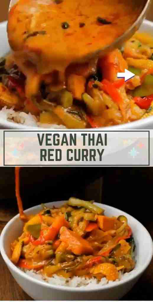 🌶️ Plant-Based Thai Red Curry