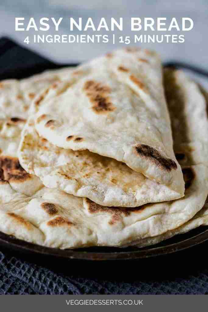 Quick and Easy Yeast-Free Naan Bread
