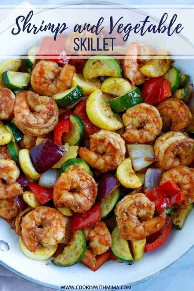 Shrimp and Vegetable Skillet – This Shrimp and Vegetable Skillet is a quick and …