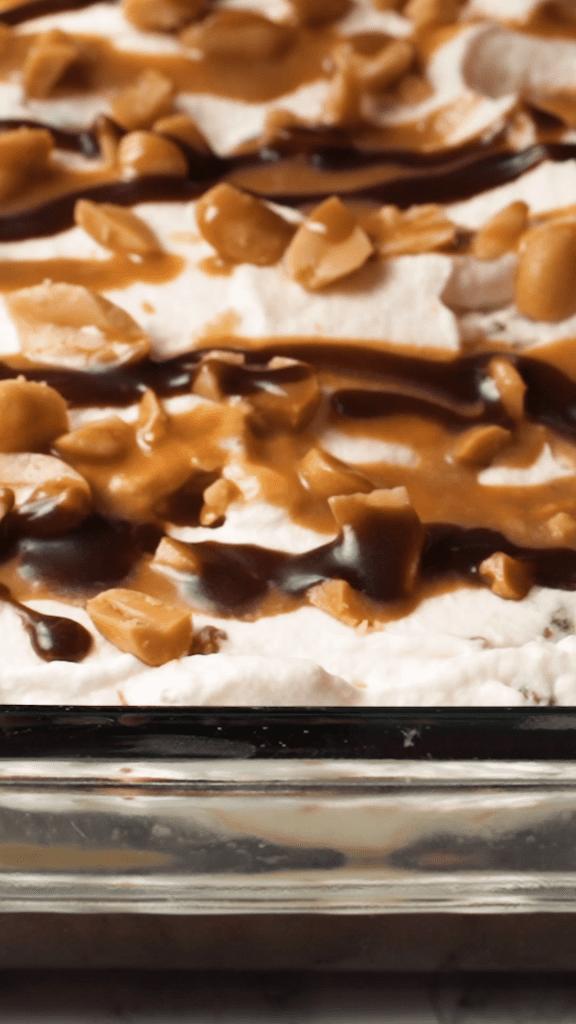 Snickers Poke Cake Recipe