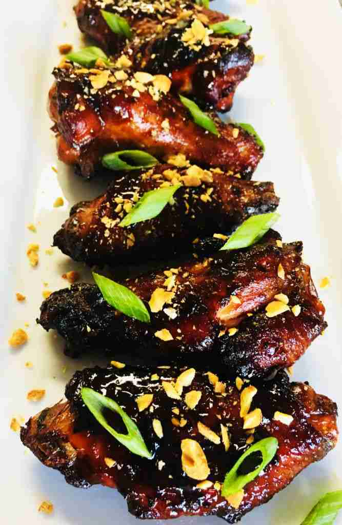 Sweet and Sticky Thai Chicken Wings – Cooks Well With Others