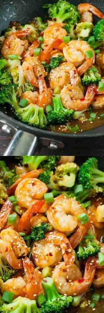 Szechuan Shrimp and Broccoli – Peas And Crayons