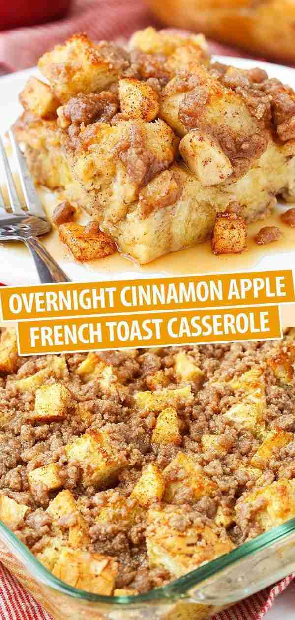 This Apple Baked French Toast Is The Best Breakfast Casserole Recipe
