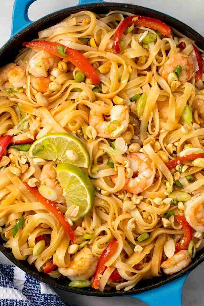 This Easy Shrimp Pad Thai Comes Together In 20 Minutes