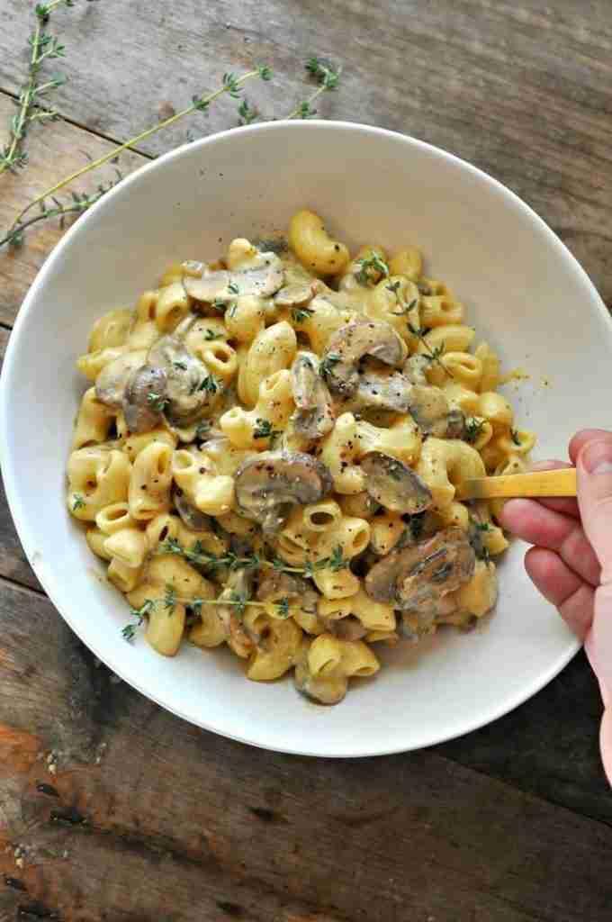 Vegan Mushroom Stroganoff Mac and Cheese | Recipe | Vegan mushroom stroganoff, Vegan recipes, Vegan
