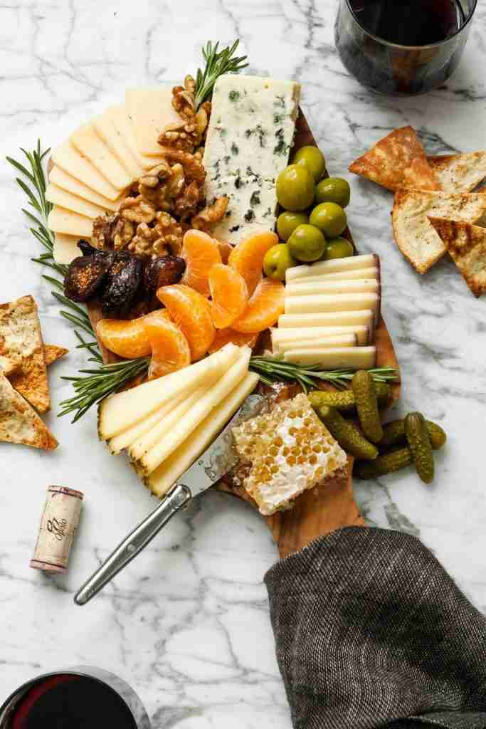 Winter Cheese Board | Zestful Kitchen