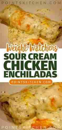 weight watchers sour cream enchiladas