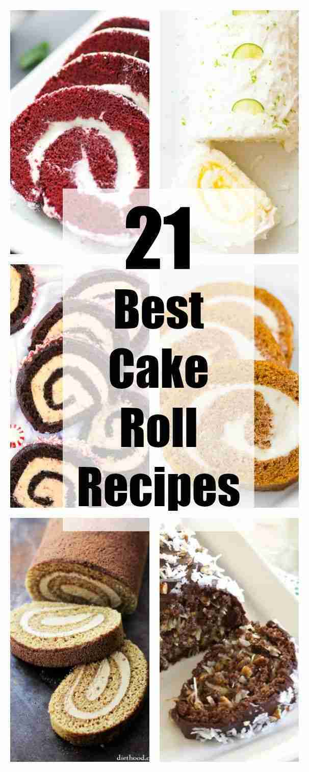 21 Best Cake Roll Recipes