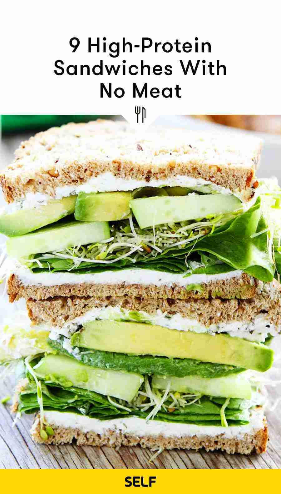 9 High-Protein Sandwiches With No Meat