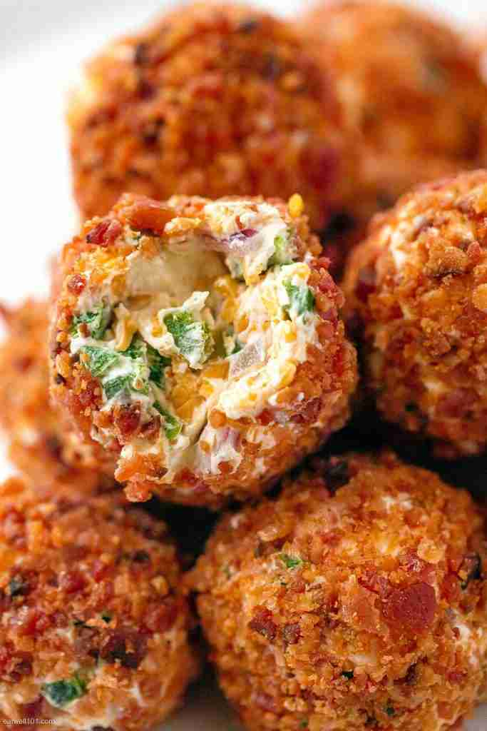 Bacon Jalapeño Popper Cheese Balls Recipe