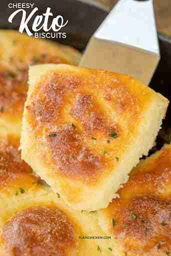 Cheesy Keto Biscuits Recipe | Yummly