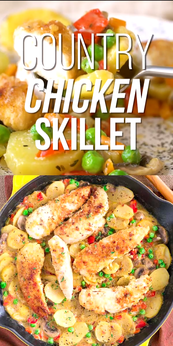Country Chicken and Vegetable Skillet