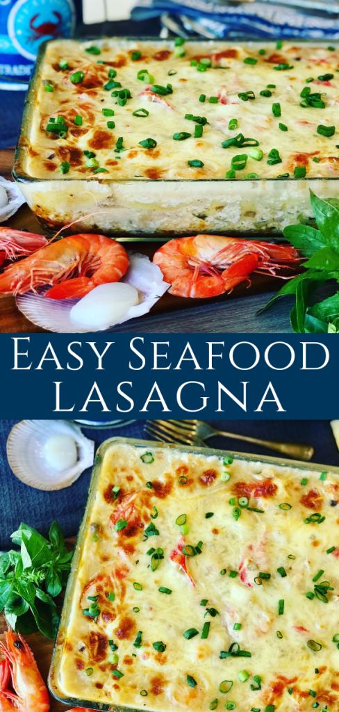 Creamy Seafood Lasagna – Peter's Food Adventures