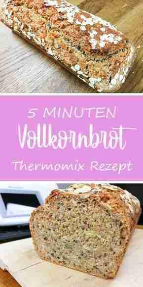 Das schnellste Vollkornbrot der Welt – dieHexenküche.de |  Rezeptideen für den Thermomix T