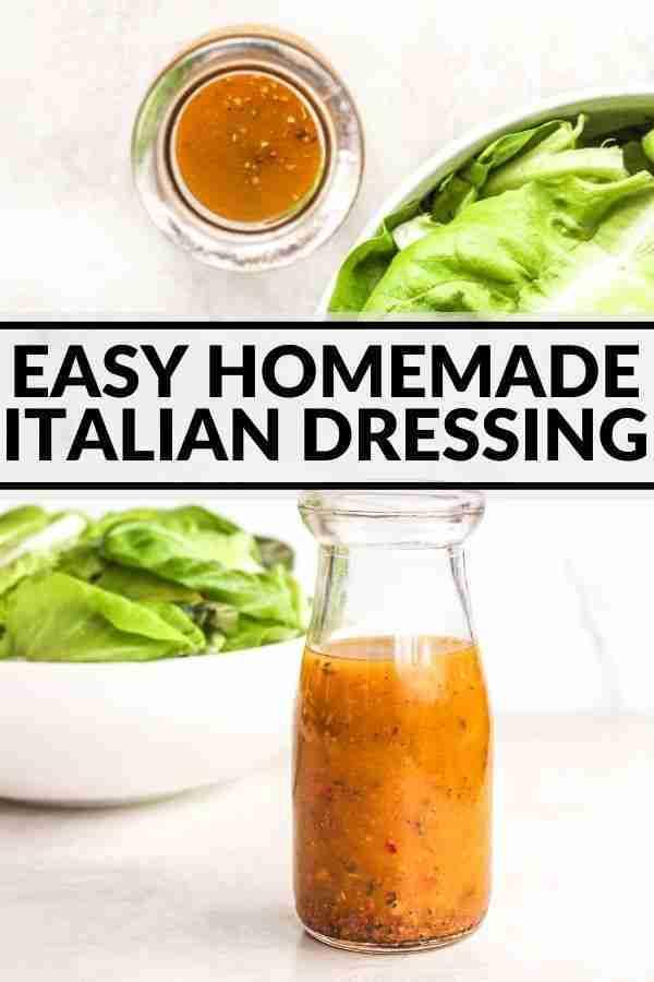 Easy Homemade Italian Dressing