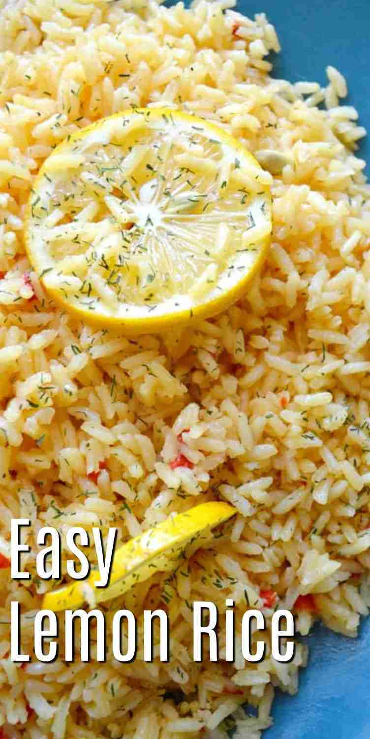 Easy Lemon Rice
