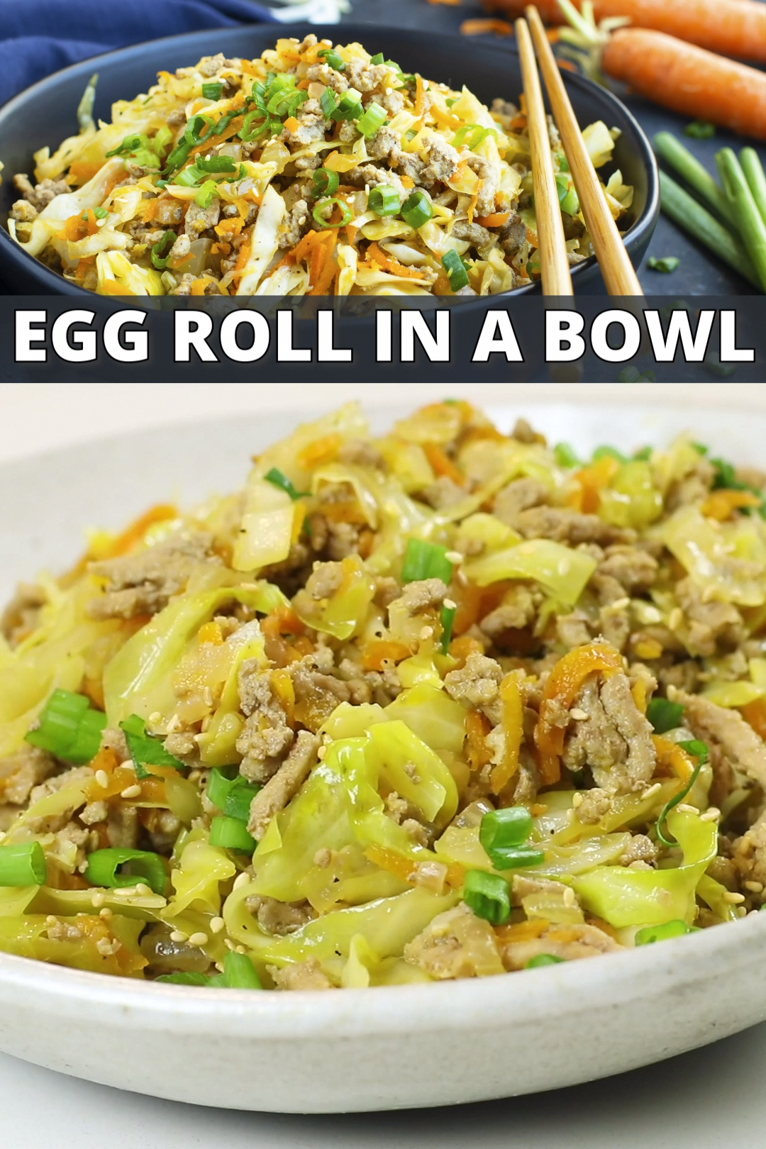 Egg Roll in a Bowl   Low-Carb + Keto