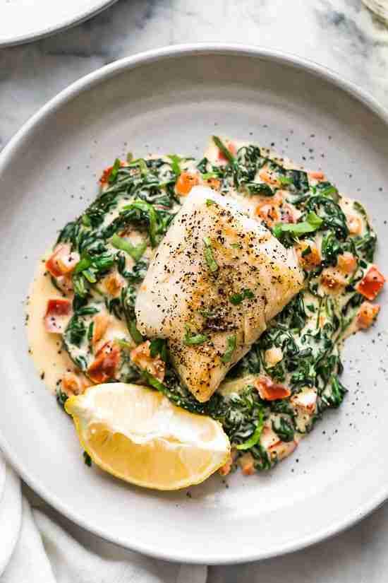Fish Florentine – The BEST Fish Recipe!