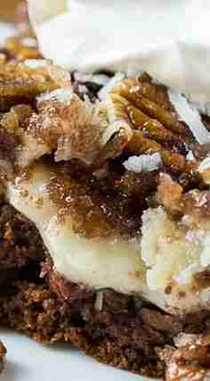 German Chocolate Upside-Down Cake – Spicy Southern Kitchen