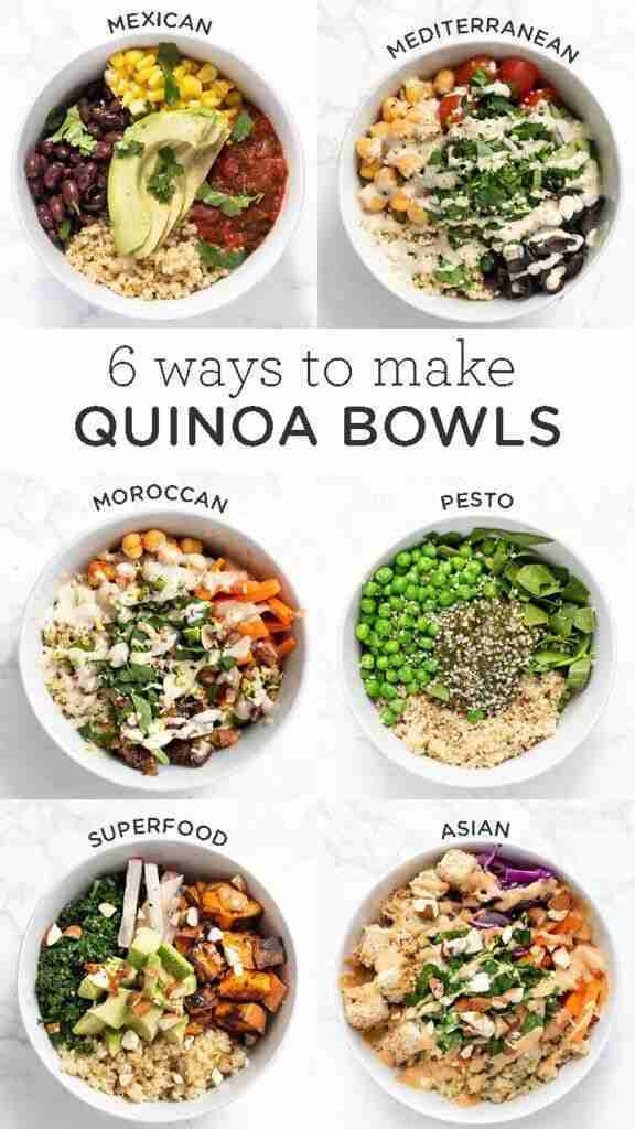 Healthy Quinoa Bowls: 6 Delicious Ways – Simply Quinoa