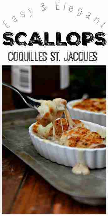 How to Make Scallops Coquilles St. Jacques