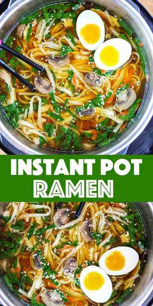 Instant Pot Ramen Soup