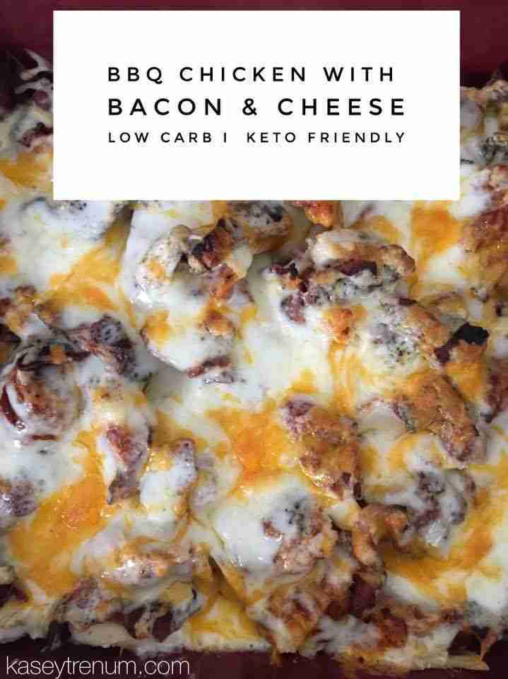 Keto BBQ Chicken Casserole Recipe